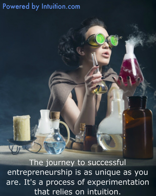 Journey to entrepreneurship